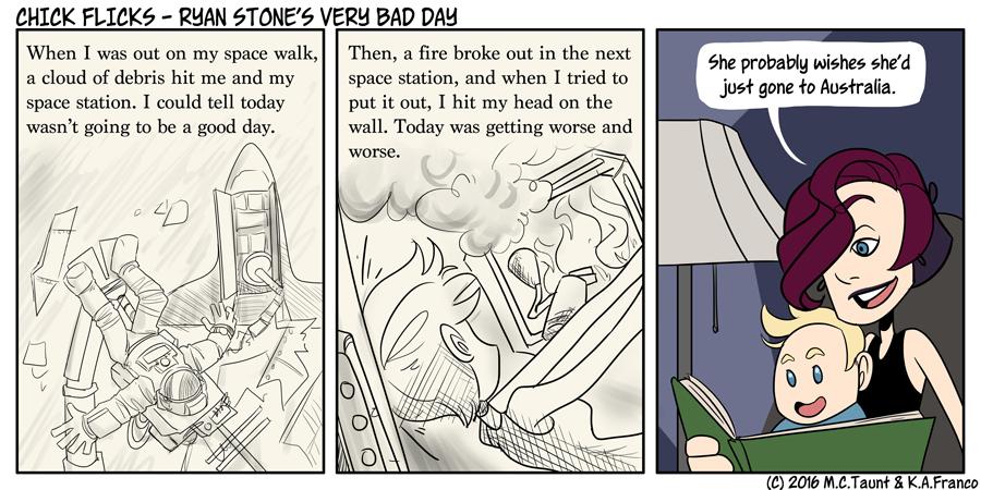 Ryan Stone's Very Bad Day